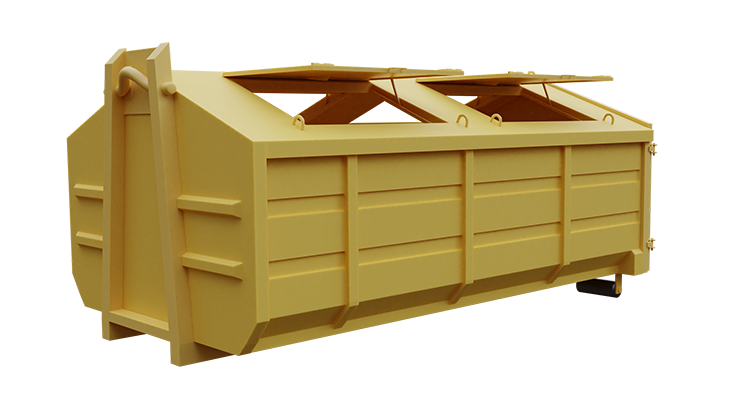 Multifunctional waste container 1