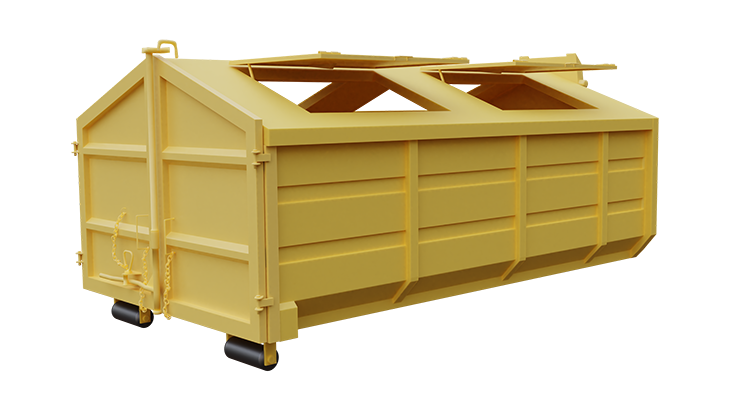 Multifunctional waste container 3