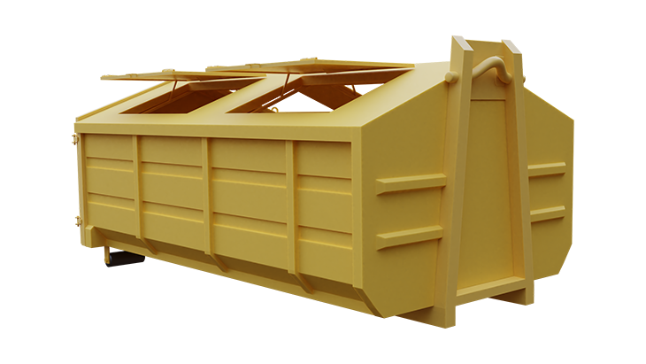 Multifunctional waste container 4